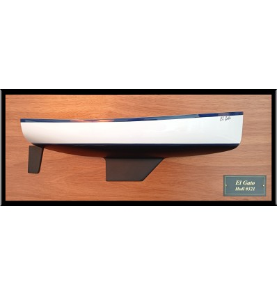 Nonsuch 30 flush deck half hull