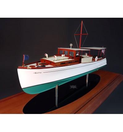 Boss 42 Classic Power Boat custom model