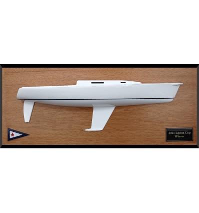 J105 trophy custom half model