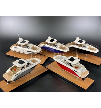 SEA RAY DA320 SUNDANCER custom desk models for shipyards, dealers