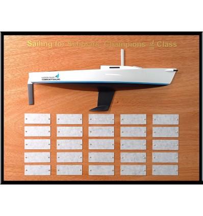 J80 Trophy Half Model
