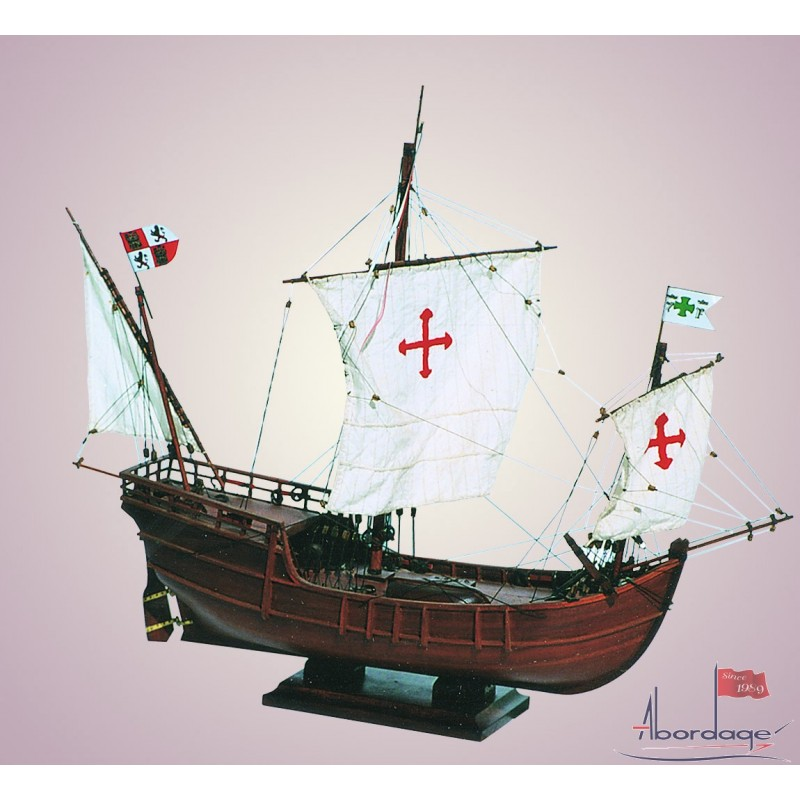 La Ni 241 A The Smallest Caravel Of Columbus Quality Boat Model