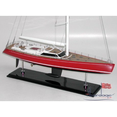 "Nautor Swan 100 ""Red Sky"" Model by Abordage"