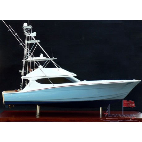 Hatteras 60 GT Convertible Model by Abordage
