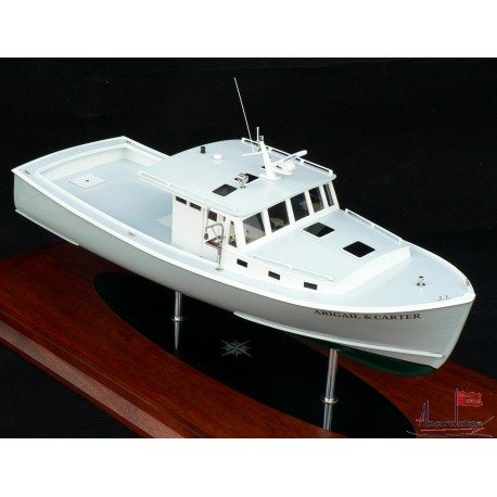 New England 42 Lobster Boat Model by Abordage