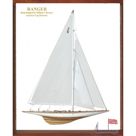 Ranger Framed Half Model by Abordage