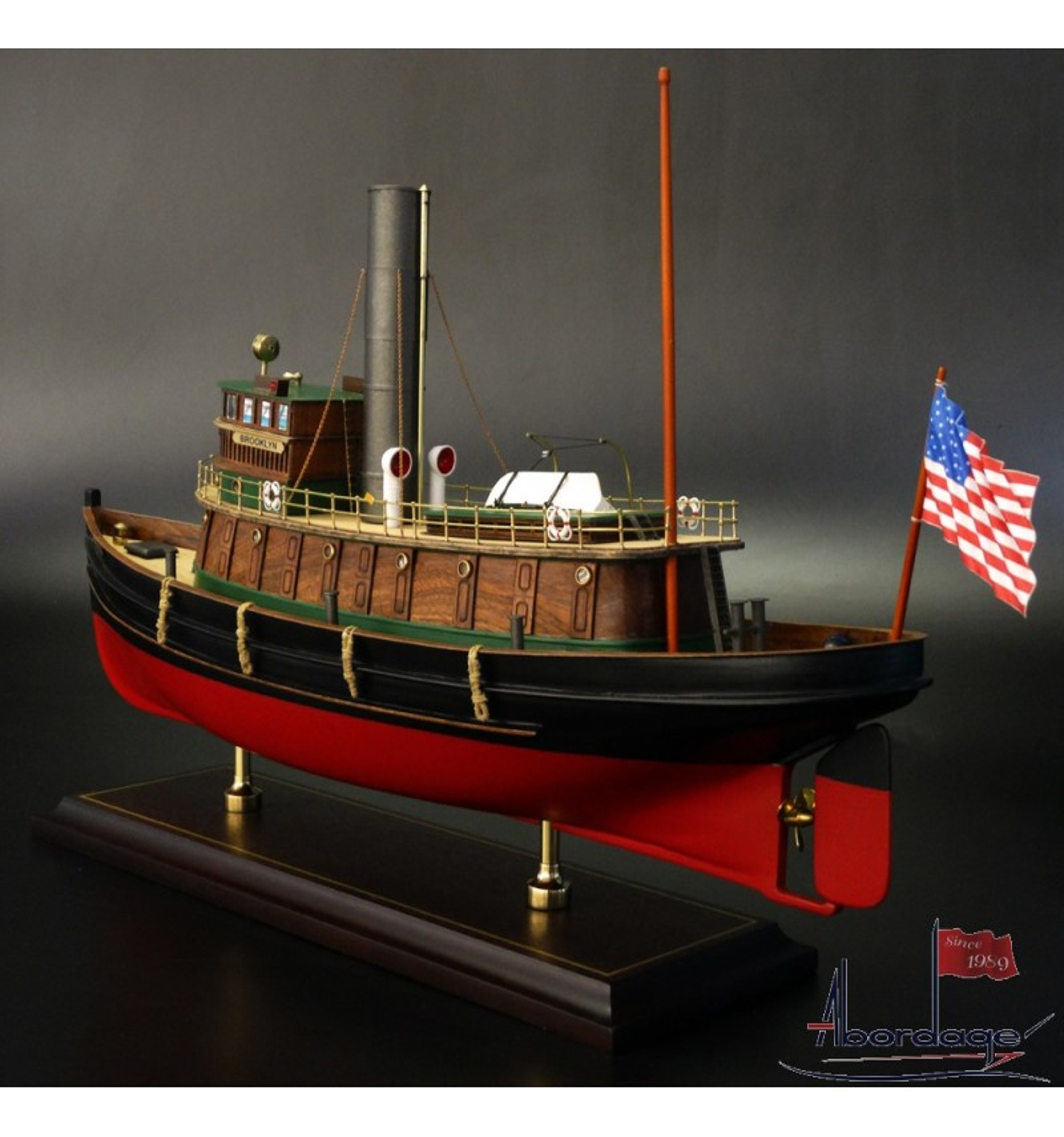 Brooklyn Tug Boat 1918 - Museum Quality Handmade Models