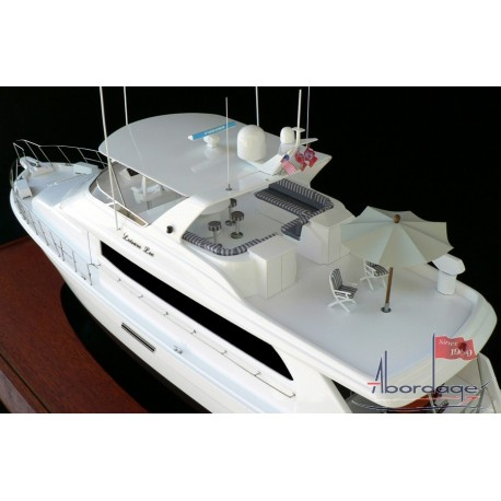 Hatteras 75 model by Abordage