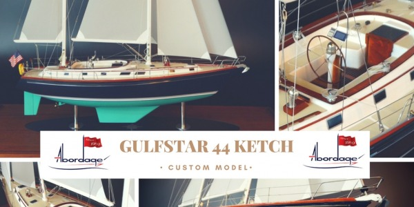 Gulfstar 44 Ketch Custom model