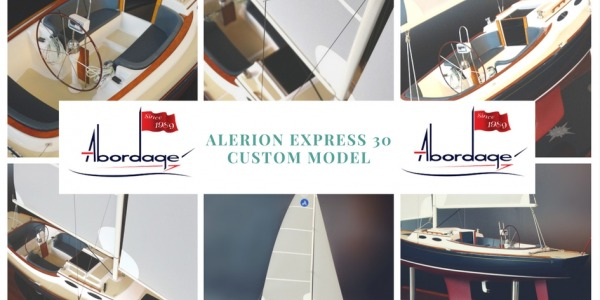 Alerion Express 30 custom model