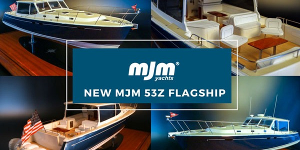 The Largest Outboard Express Cruiser Ever New MJM53Z