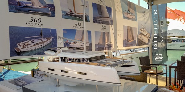 Pictures from last Miami International Boat Show - DUFOUR