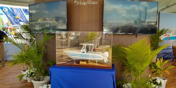 Pictures from last Miami International Boat Show - EDGE WATER