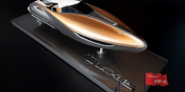 Lexus Boat Custom Model